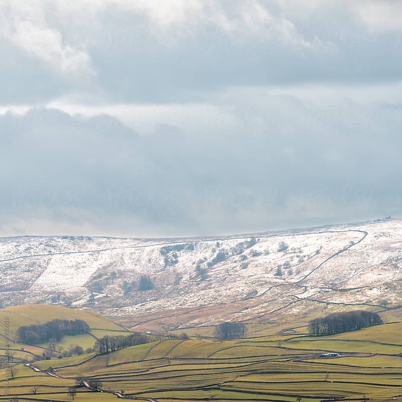 View over Wharfedale, Yorkshire by Richard Jones for Stocksy United