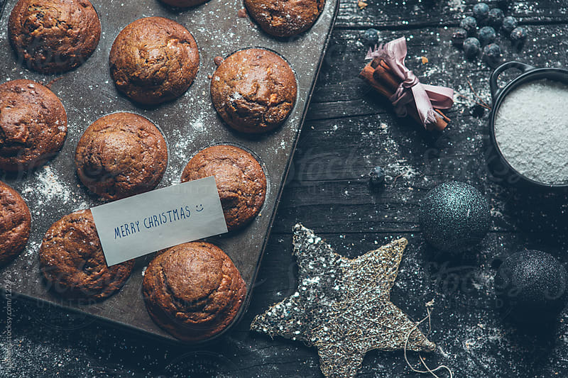 Muffins for a Merry Christmas! by Lumina for Stocksy United