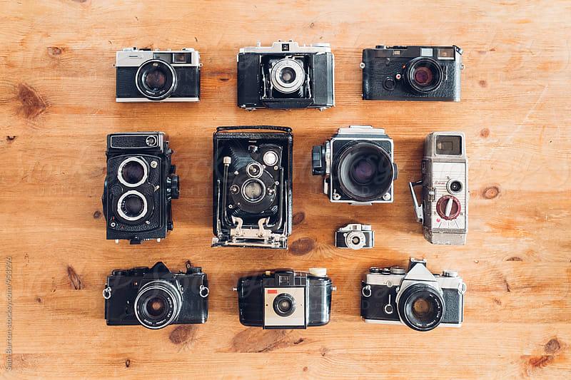 Vintage camera's by Sam Burton for Stocksy United