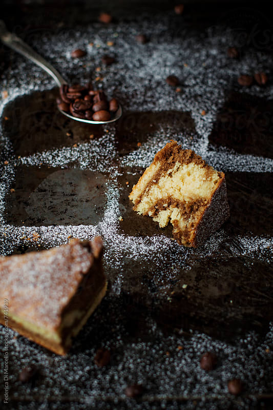 Marbled coffee cake  by Federica Di Marcello for Stocksy United