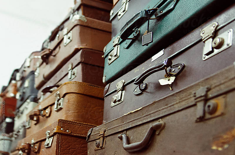 Suitcases by Marija Anicic for Stocksy United