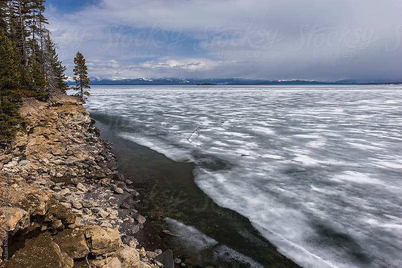 Yellowstone Lake by Adam Nixon for Stocksy United