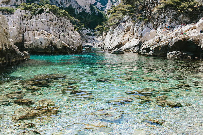 Calanque de Sugiton in Marseille, France by Kristen Curette Hines for Stocksy United