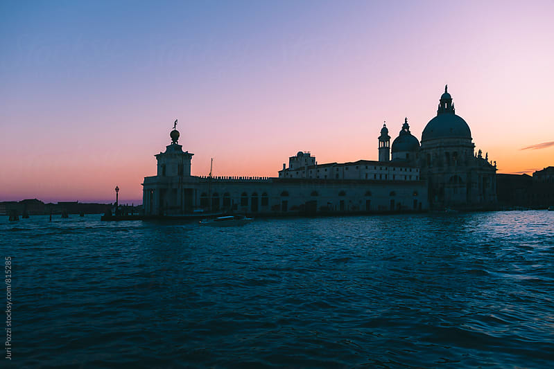 Venice at sunset by Juri Pozzi for Stocksy United
