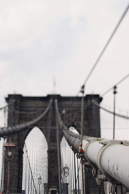 Brooklyn Bridge by Chelsea Victoria for Stocksy United