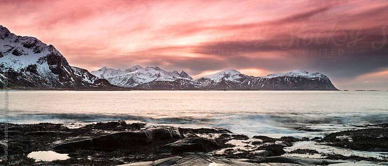 Sunset in the Arctic by Marilar Irastorza for Stocksy United