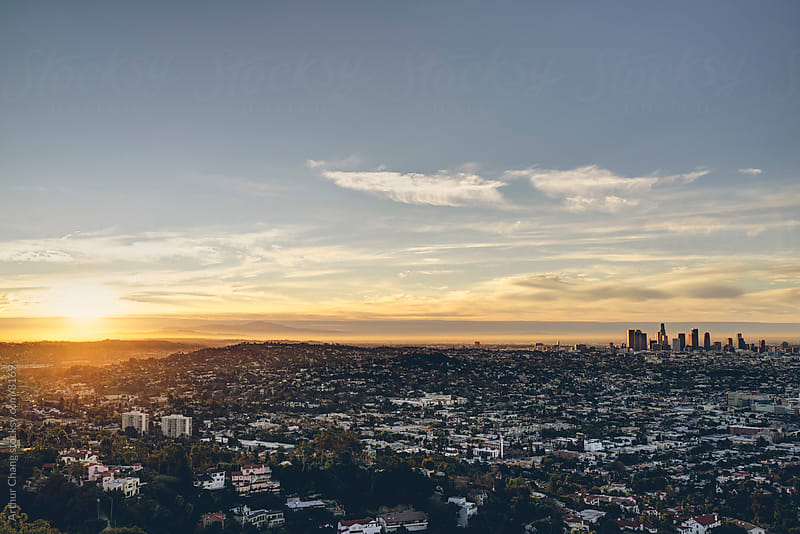 Sunrise Los Angeles by Arthur Chang for Stocksy United