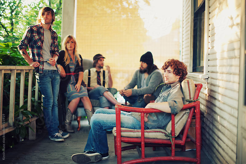Porch People by Kevin Russ for Stocksy United