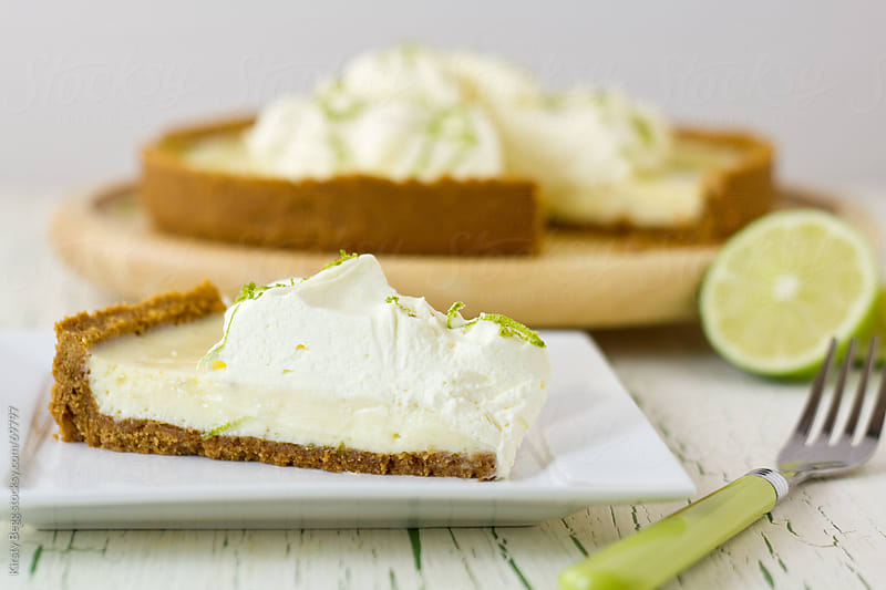 Key Lime Pie wedge by Kirsty Begg for Stocksy United