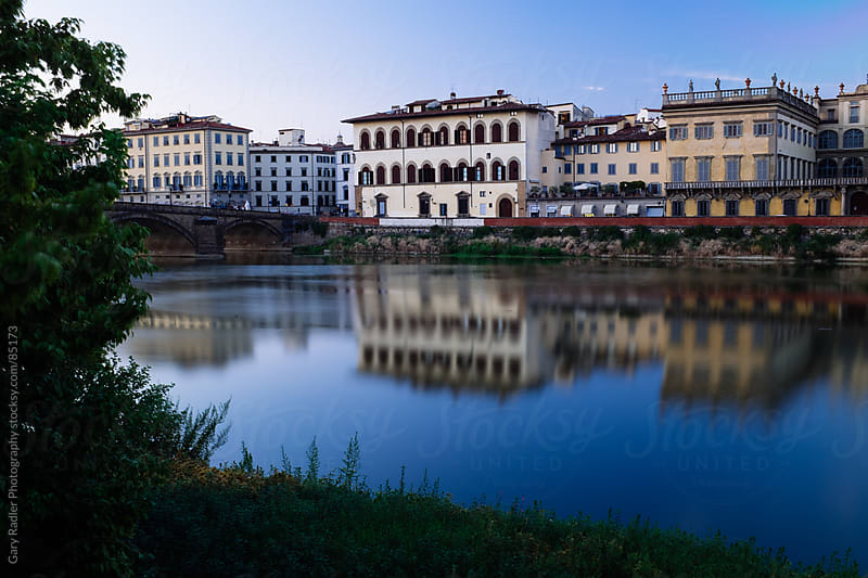 Amo River at Night by Gary Radler Photography for Stocksy United