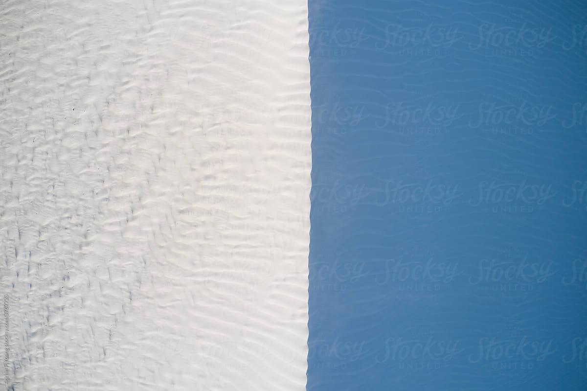 Sand dune minimal contrast