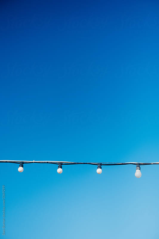 Light bulbs by Sam Burton for Stocksy United