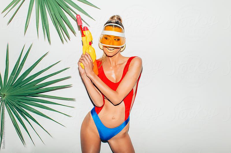 Summer secret agent! by Studio Firma for Stocksy United