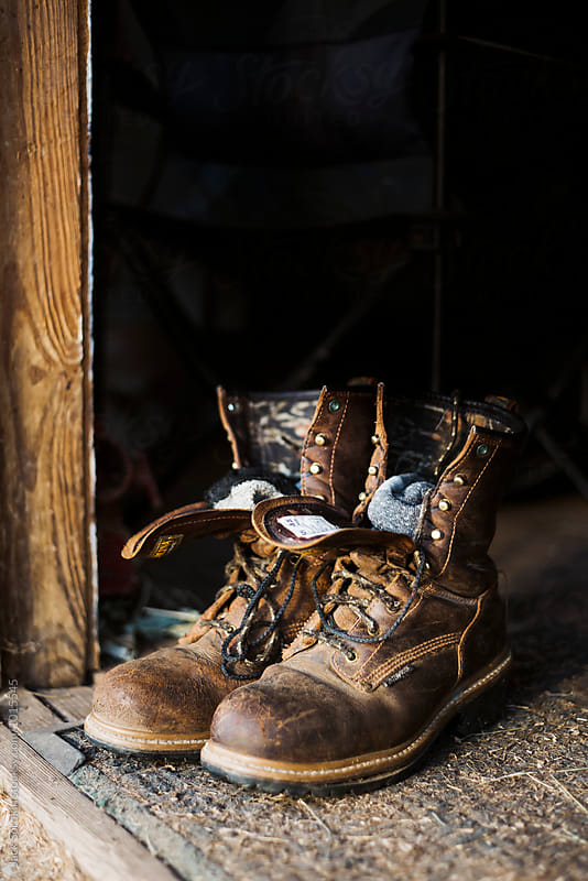 Work Boots with Socks by Jack Sorokin for Stocksy United