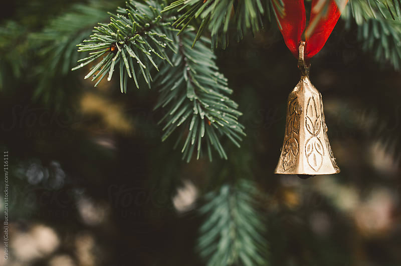Bell on Christmas Tree by Gabriel (Gabi) Bucataru for Stocksy United