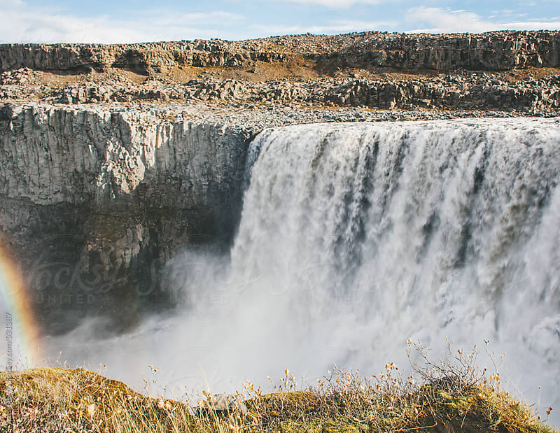 Dettifoss waterfall, Iceland by Luca Pierro for Stocksy United
