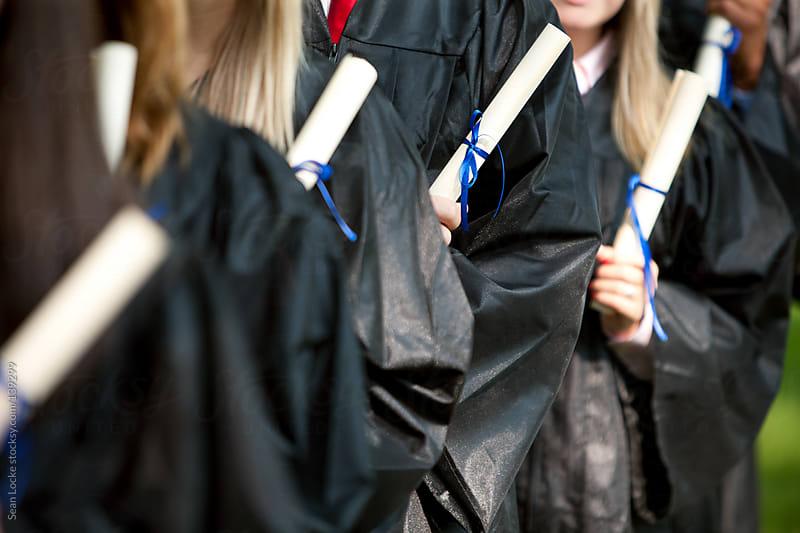 Graduation: Focus on Graduation Diploma by Sean Locke for Stocksy United