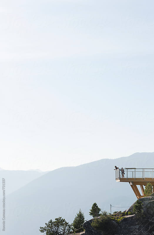 Mountain Lookout by Ronnie Comeau for Stocksy United