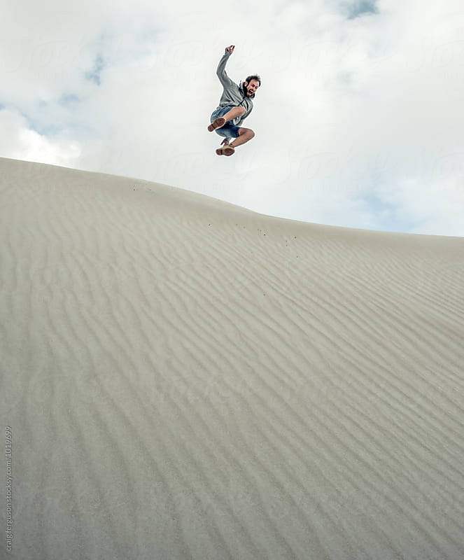 Dune Leaper by craig ferguson for Stocksy United