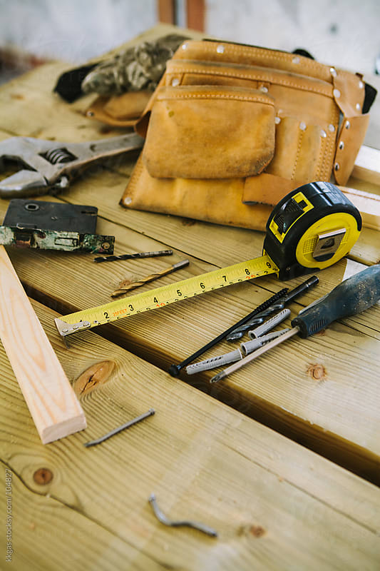 Carpentry tools by kkgas for Stocksy United