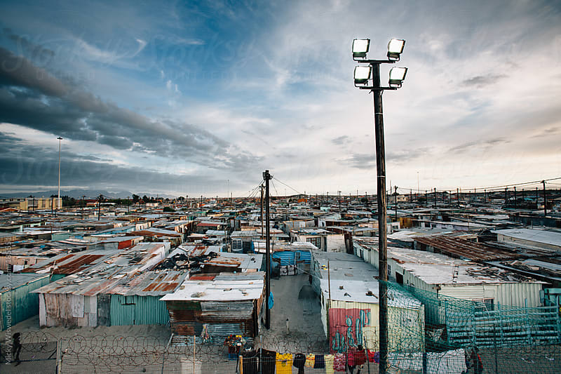 Khayelitsha township, Cape Town, South Africa by Micky Wiswedel for Stocksy United