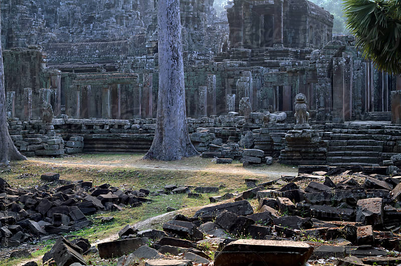 Prasat Bayon. Angkor Wat by Yury Goryanoy for Stocksy United