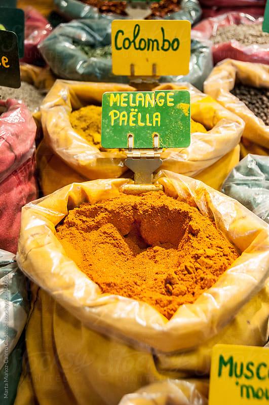 Spices for paella by Marta Muñoz-Calero Calderon for Stocksy United