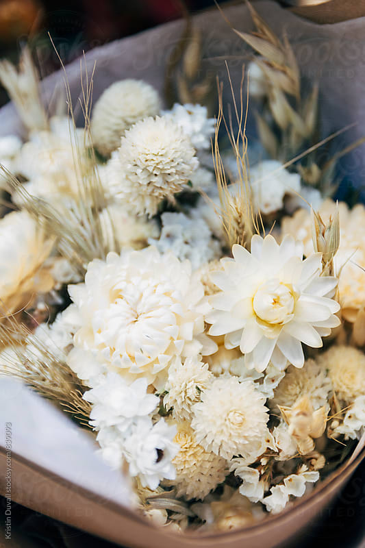 Dried flower bouquets by Kristin Duvall for Stocksy United