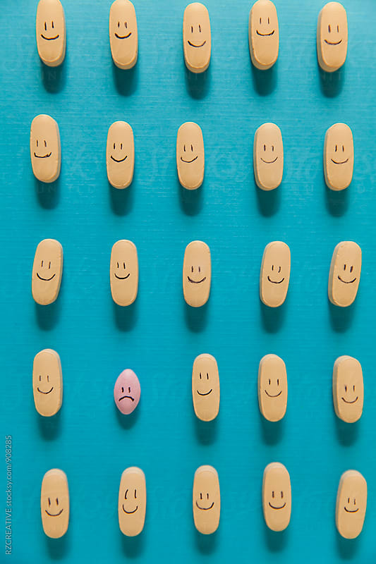 Happy pills. by RZ CREATIVE for Stocksy United