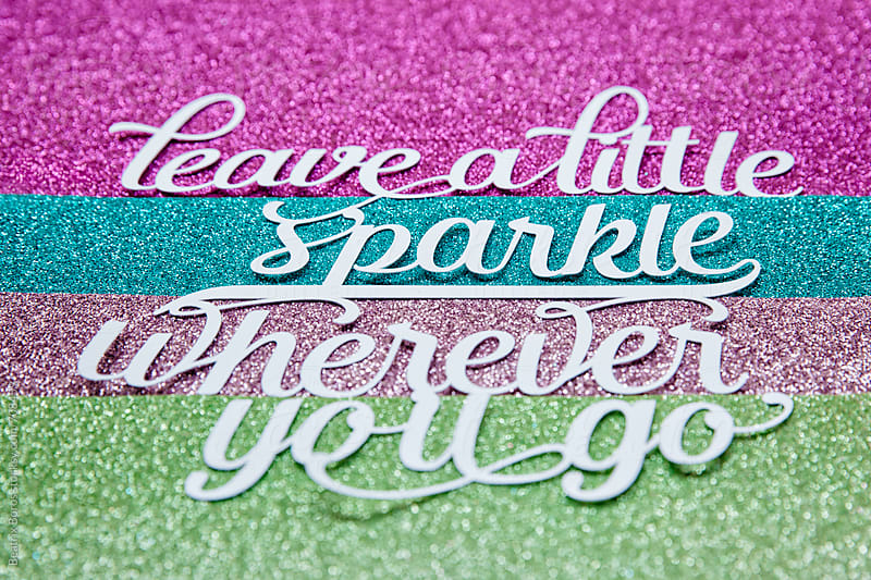 Concept: Leave a little sparkle wherever you go by Beatrix Boros for Stocksy United
