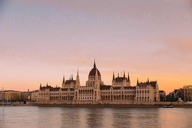 Hungarian Parliament by Martí Sans for Stocksy United