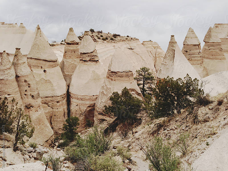 Pointy Tent Rocks by Kevin Russ for Stocksy United