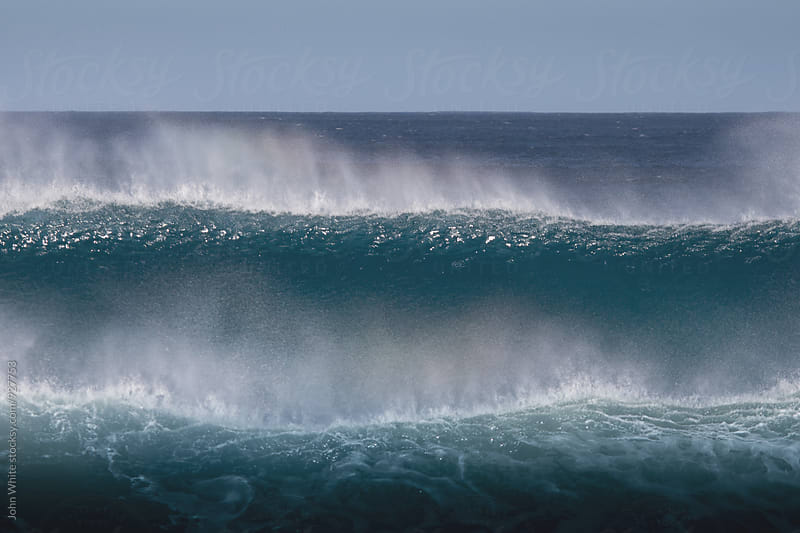 Breaking waves. Southern Ocean. Australia. by John White for Stocksy United