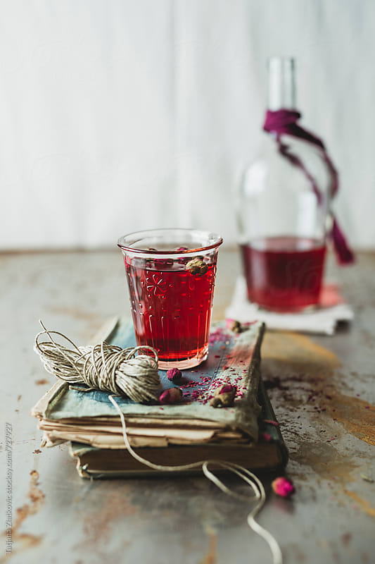 Rose bud tea by Tatjana Zlatkovic for Stocksy United