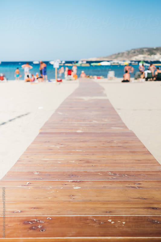 Beach walkway by Sam Burton for Stocksy United