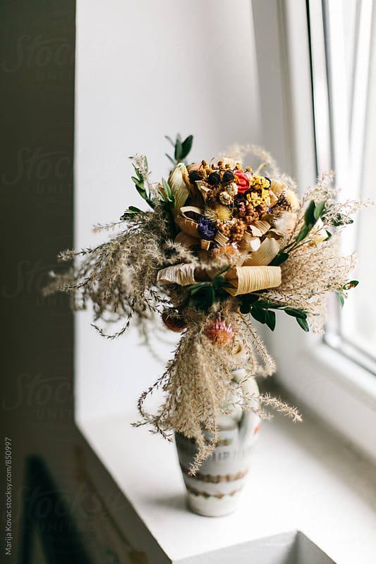 Bouquet of flowers, vertical by Marija Kovac for Stocksy United