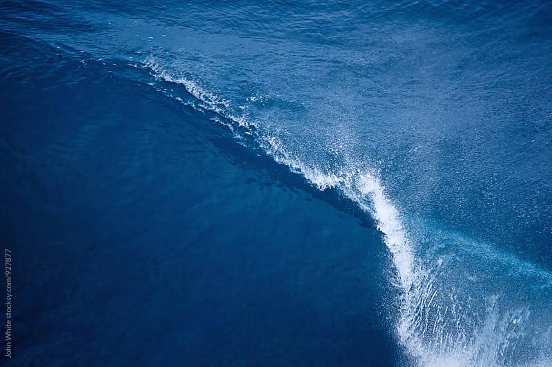 Wave breaking. Southern Ocean. Australia. by John White for Stocksy United