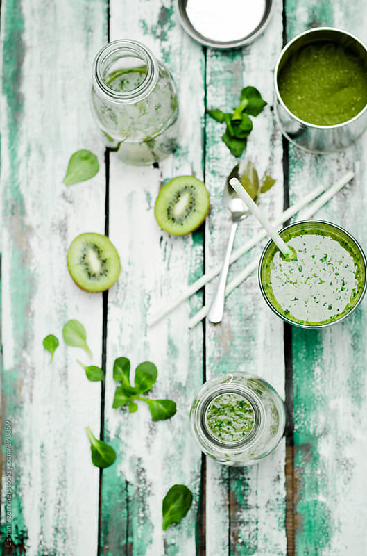 green smoothie by Canan Czemmel for Stocksy United