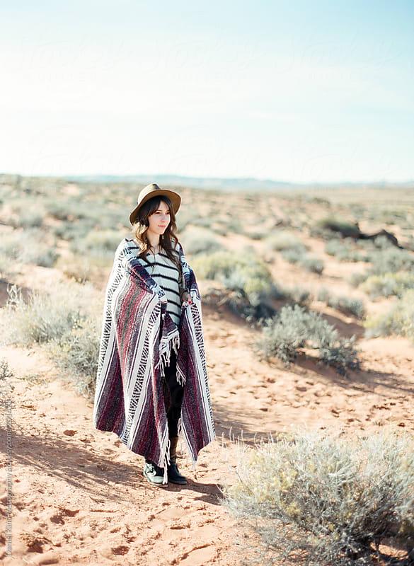In the Desert by Daniel Kim Photography for Stocksy United