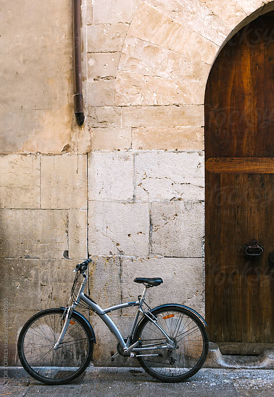 Old Bicycle in a Rural Village by VICTOR TORRES for Stocksy United