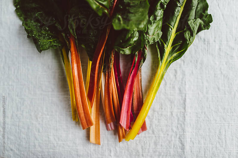 Rainbow chard  by Cameron Whitman for Stocksy United