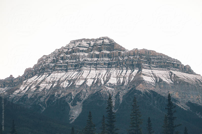 Banff Park Adventures in the Cold Morning by Jake Elko for Stocksy United