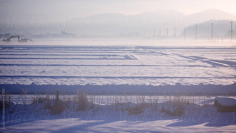 Winter Landscape in northern Japan by Jason Hill for Stocksy United