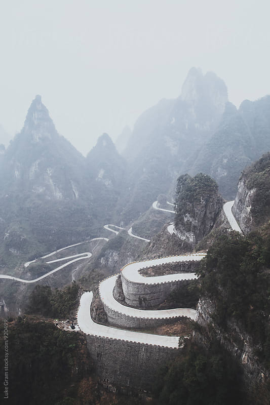 Zhangjiajie, China by Luke Gram for Stocksy United