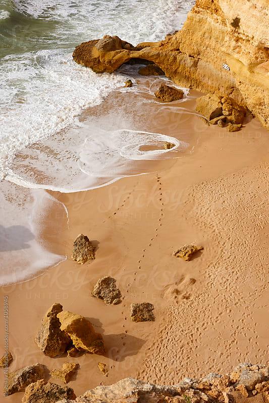 Beach in south of Portugal by Bratislav Nadezdic for Stocksy United