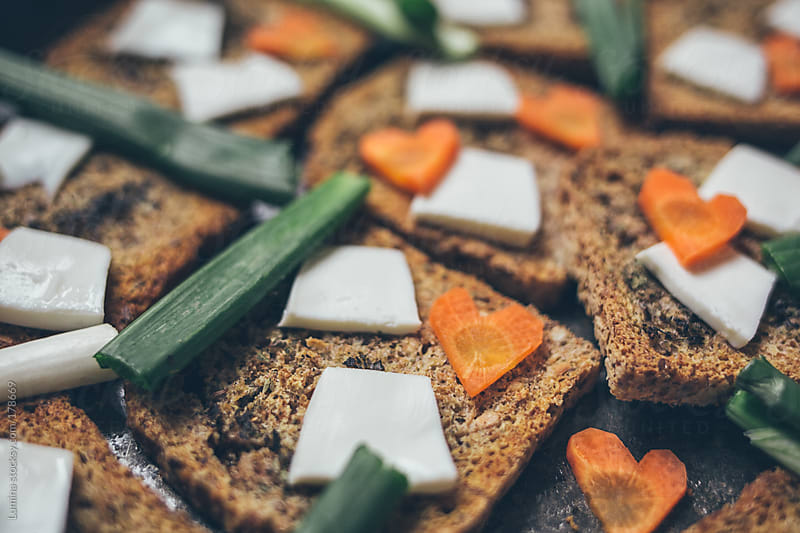 Vegetarian Toast by Lumina for Stocksy United