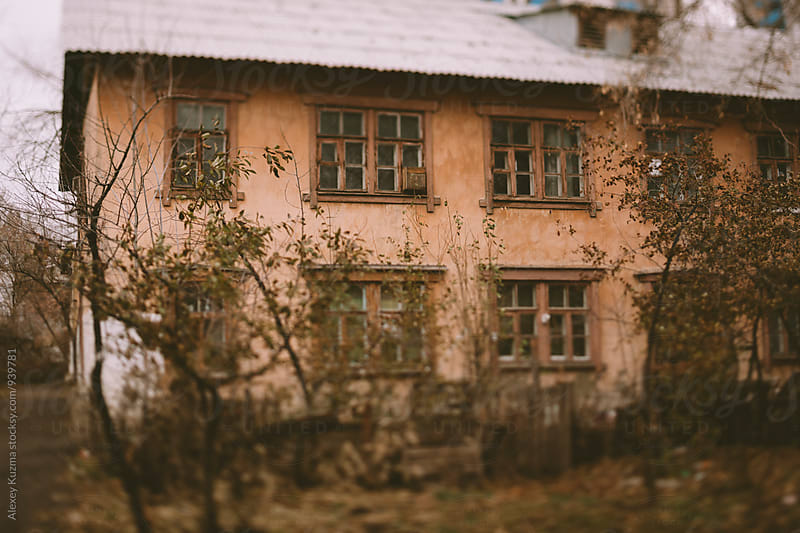 old house by Alexey Kuzma for Stocksy United