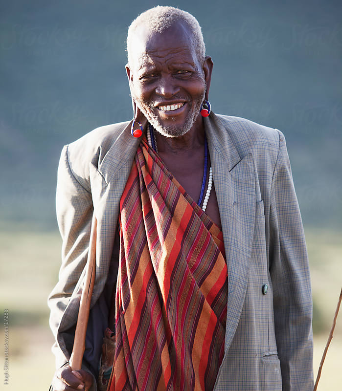 People of the Maasai tribe. Maasai Mara. Kenya. Africa by Hugh Sitton for Stocksy United