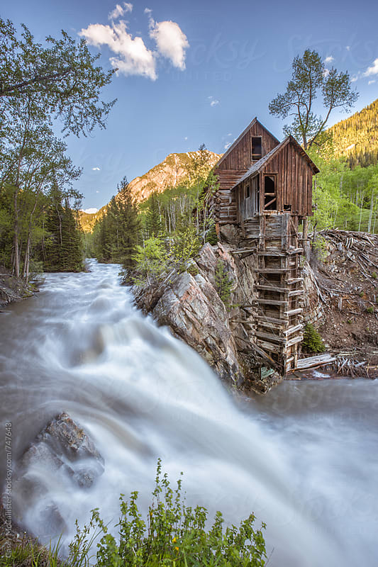 Crystal Mill Colorado by Casey McCallister for Stocksy United