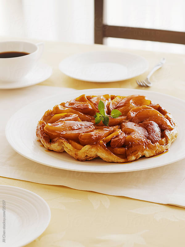 Tarte Tatin by Jill Chen for Stocksy United